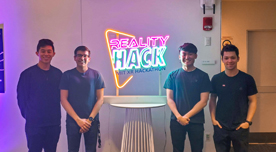 CMU's MIT Mixed Reality Hack Team