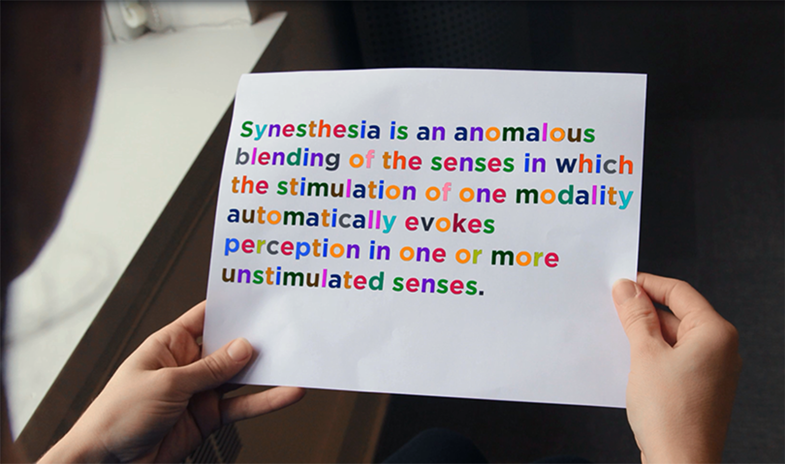 Definition of synesthesia