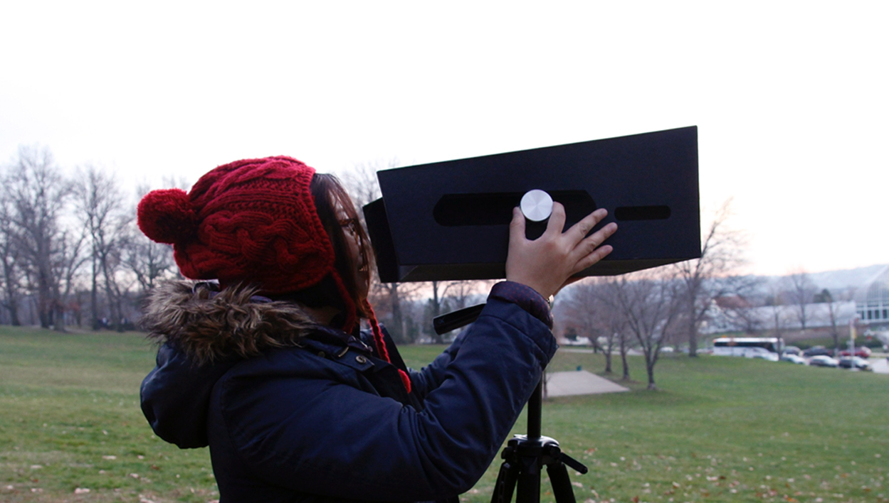 Physical viewfinder