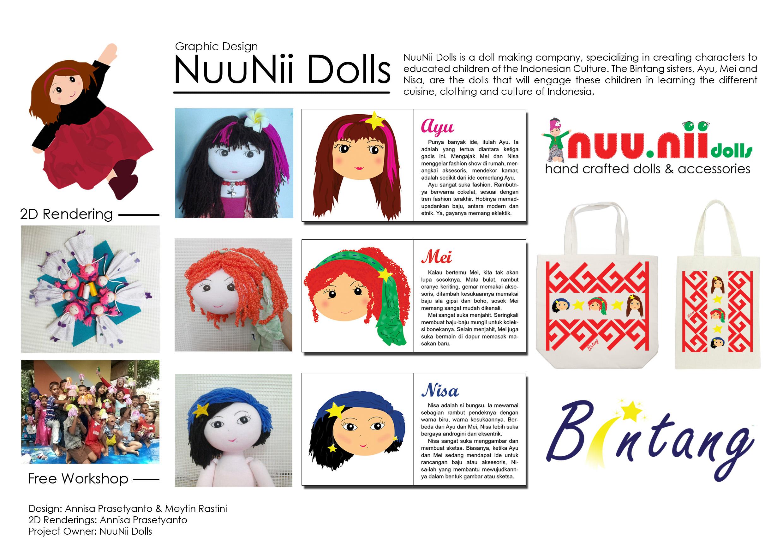 Graphic Design: NuuNii Dolls
