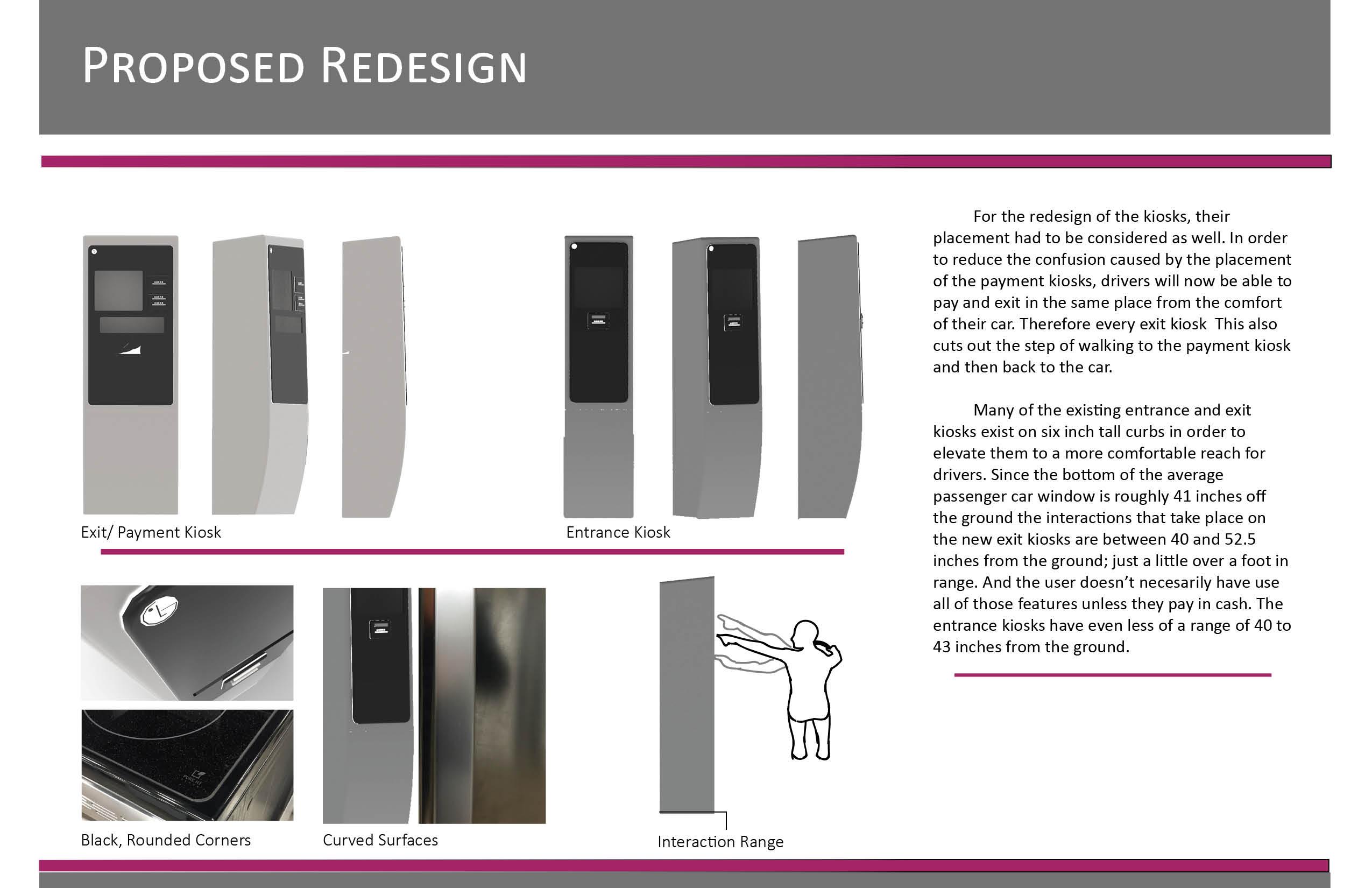 UX and brand design LG Ticket kiosk