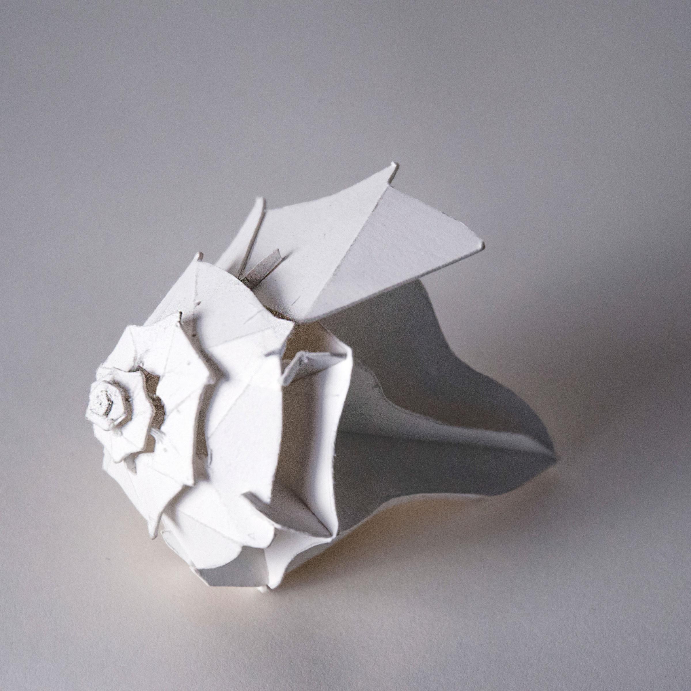 Origami Spiral Snail Shell (Toshikazu Kawasaki) - YouTube | 2400x2400