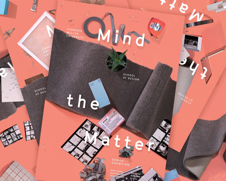 Poster series for the CMU Design Senior Exhibition