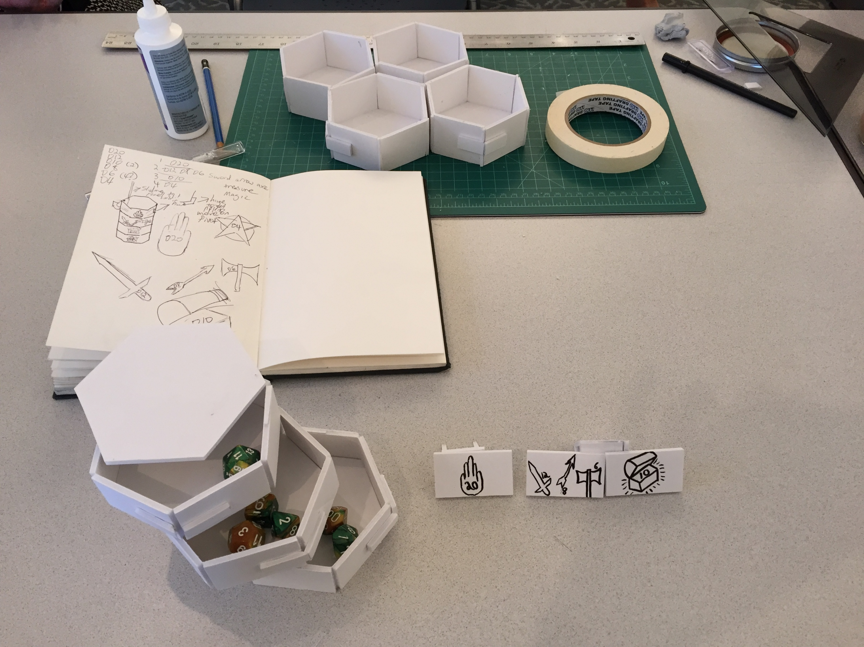 Product Prototype: D&D Dice Box