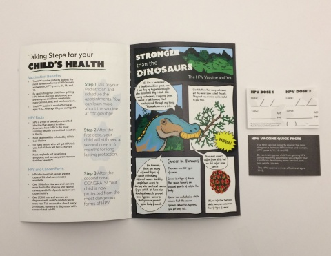 Stronger than the Dinosaurs: An HPV Awareness kit for 11-12 year olds