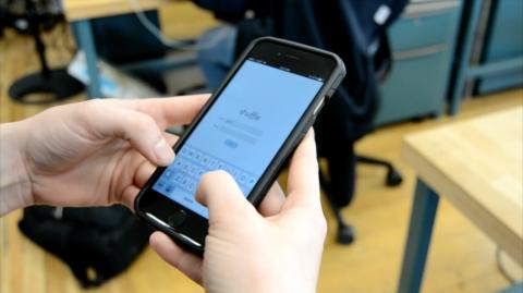 Using Shuffle Mobile App