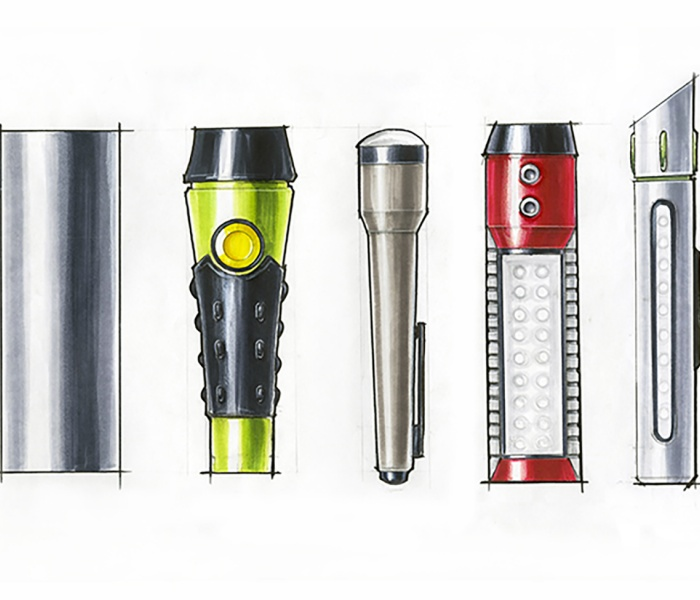 Flashlight Renderings - by Adella Guo