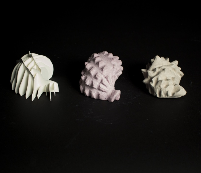 Semantics of 3D Form (shell) - by Juan Aranda